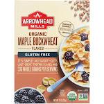 Arrowhead Mills Organic Flacks; Maple Buckwheat - 10 oz - Pack of 6