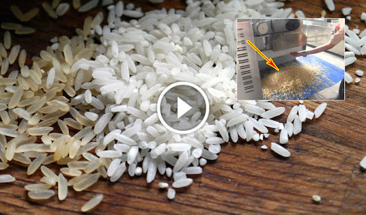 Beware Of Fake Rice From Plastic and Potatoes | eBlogfa.com
