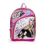"Nickelodeon Jojo Siwa Eat, Sleep, Dance 16"" Inch Pink Backpack Bag"