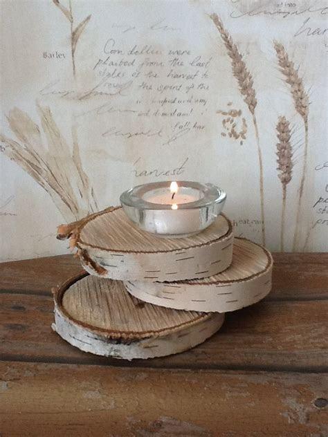 birch tree decorated for wedding   Rustic Wood Custom