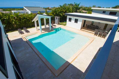 Gorgeous modern 4 bed excellent rental villa, Sosua, Puerto Plata, For Sale by Teresia Rosario