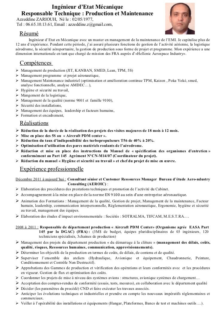 Cv Ressources Humaines Pdf