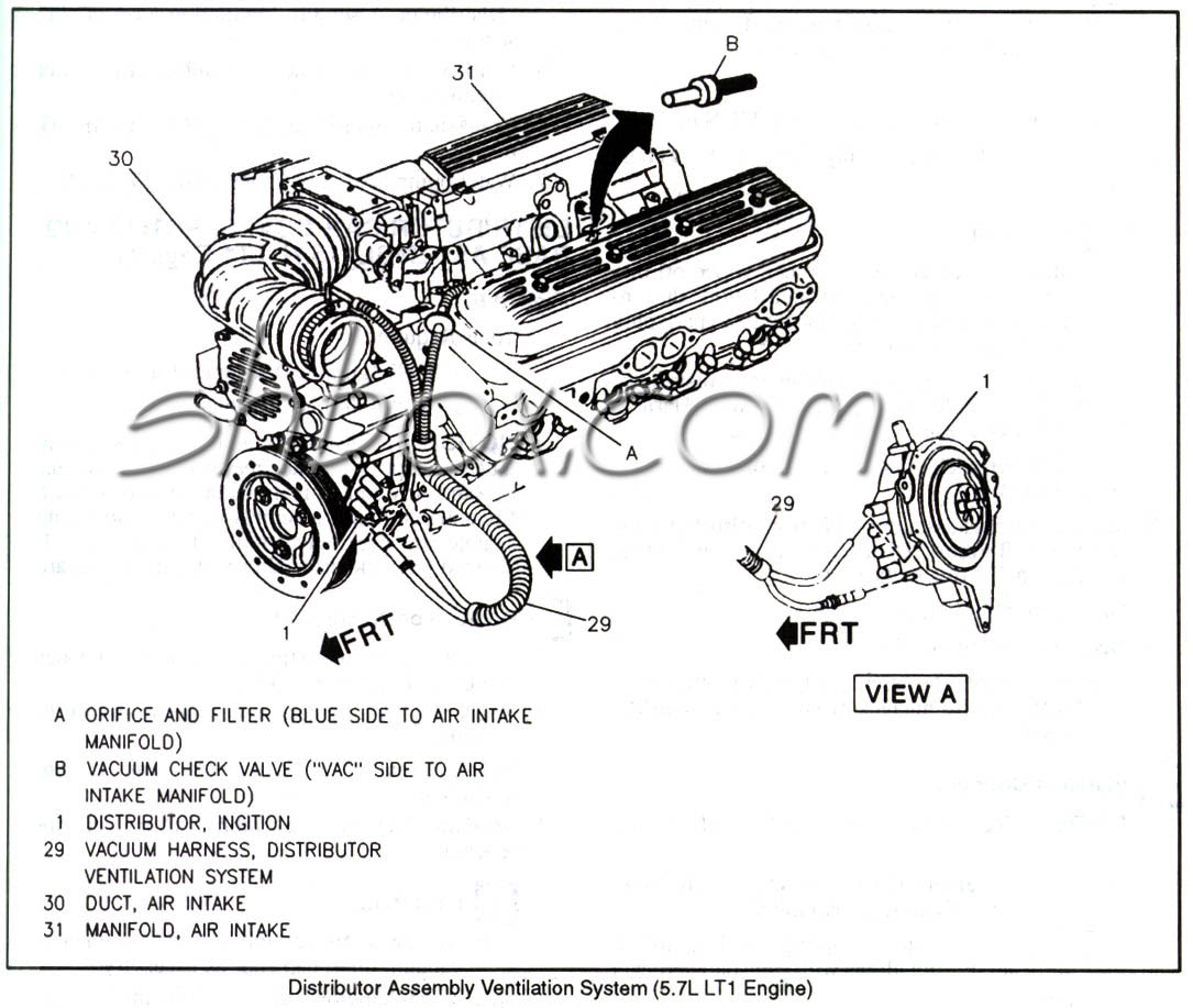 4th Gen Lt1 F Body Tech Aids Drawings Exploded Views