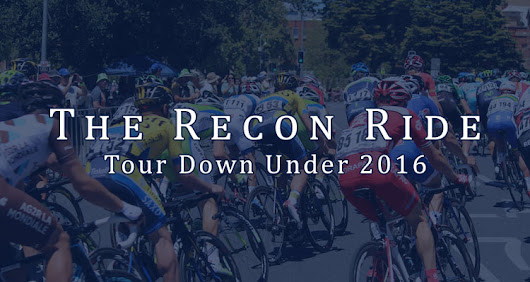 The Recon Ride Podcast: Tour Down Under 2016