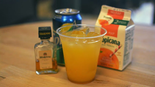 Make These Airplane-Friendly Cocktails On Your Next Long Flight