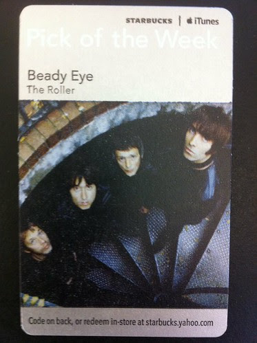 Starbucks iTunes Pick of the Week - Beady Eye - The Roller