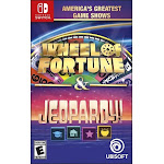 America'S Greatest Game Shows Wheel of Fortune & Jeopardy! [Switch Game]