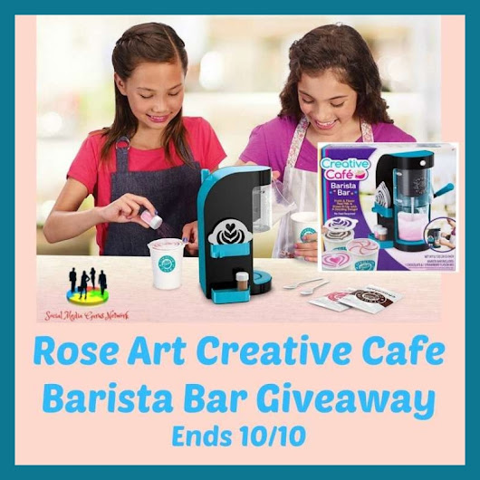 Rose Art Creative Cafe Barista Bar Giveaway! ~ Freebies Deals & Steals