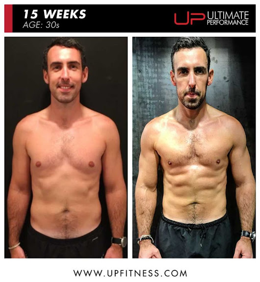 Andrew Achieved This 15-Week Physique Training Once a Week at UP - Ultimate Performance