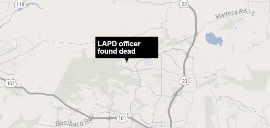Off-duty LAPD officer found dead inside Thousand Oaks home