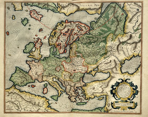 002- Europa-Atlas sive Cosmographicae meditationes de fabrica mvndi et fabricati figvra 1595- Mercator- library of Congress