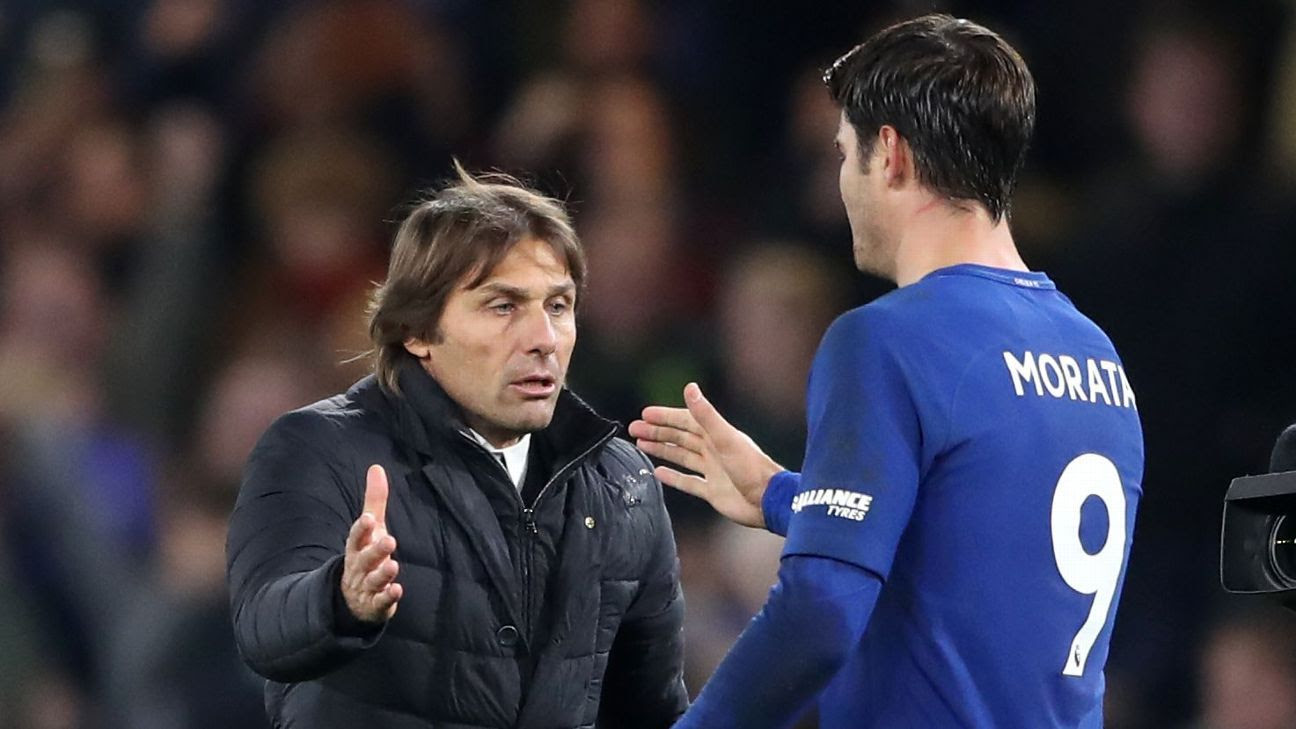 Antonio Conte must give Chelsea a chance vs. Barcelona and play a centre-forward