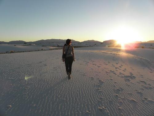 White Sands stroll