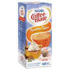 NESTLE Liquid Coffee Creamer Pumpkin Spice 0.375 oz Mini Cups 50/Box 4 Box/Carton 75520CT