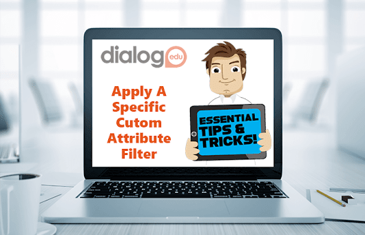 Apply A Specific Custom Attribute Filter | dialogEDU