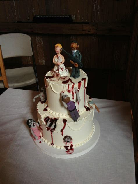 'The Walking Dead' Wedding Cake Is Bloody Awesome (PHOTO