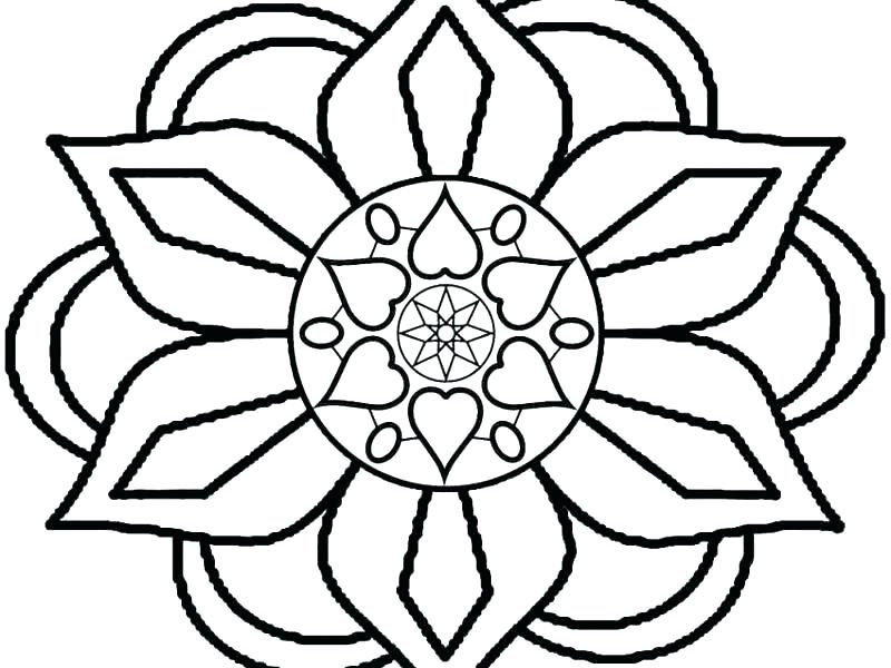 Rangoli Drawing | Free download on ClipArtMag