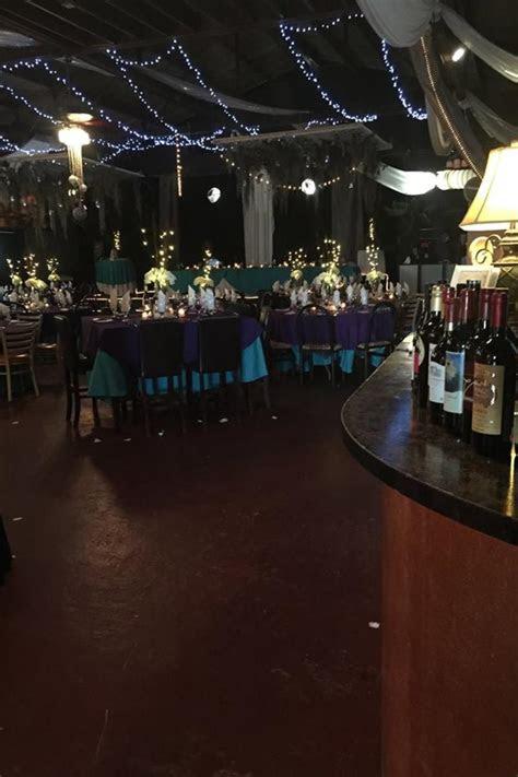 cafe unique weddings  prices  wedding venues  fl