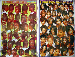 tradition and modernity - ghana hair fashions 1999