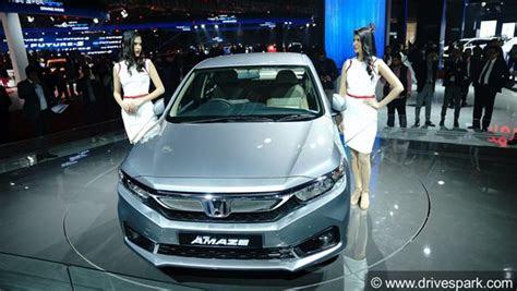 auto expo   honda amaze revealed expected launch