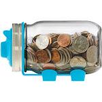 Jarware Piggy Bank, Blue