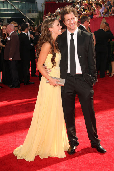 Jaime Kennedy Actress Jennifer Love Hewitt (L) and actor Jamie Kennedy arrive at the 61st Primetime Emmy Awards held at the Nokia Theatre on September 20, 2009 in Los Angeles, California.