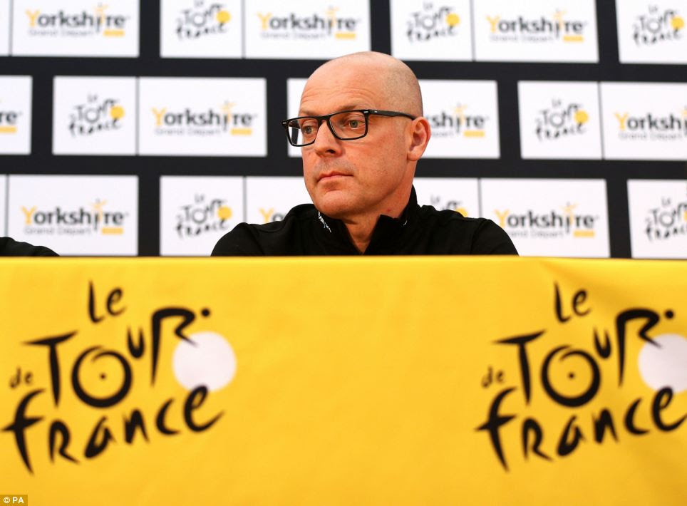 All eyes on the Tour: Team Sky's Sir Dave Brailsford today insisted his priority remains winning the Tour de France with a British rider after earlier stating his wish to help find a first French winner since 1985