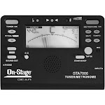 On-Stage GEAR GTA7000 - Tuner / metronome for guitar, horn - chromatic