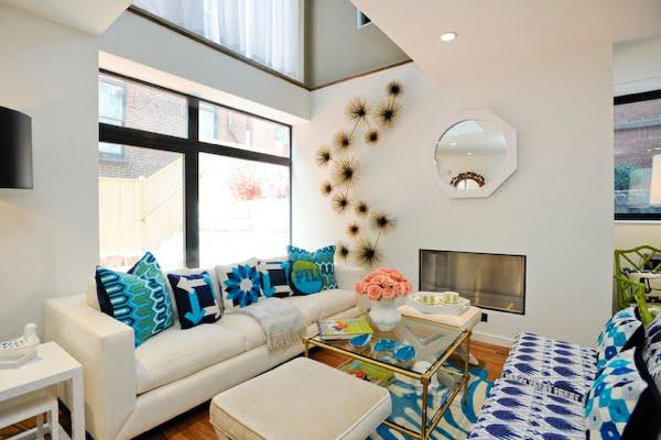 Turquoise And White Pearl Bedroom Design Ideas - Home Interior ...