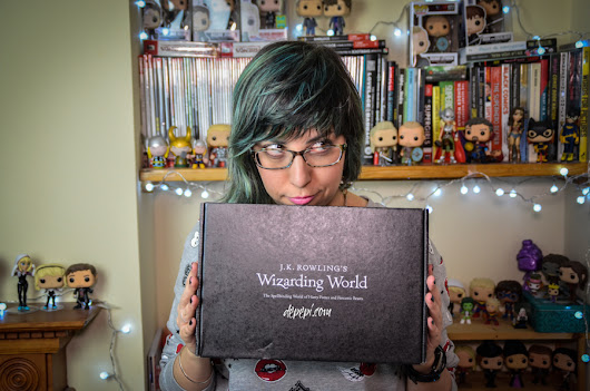 J.K. Rowling's Wizarding World Loot Crate Unboxing - dePepi