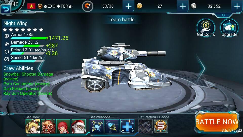 chơi game bắn xe tăng 3d Tank Hit