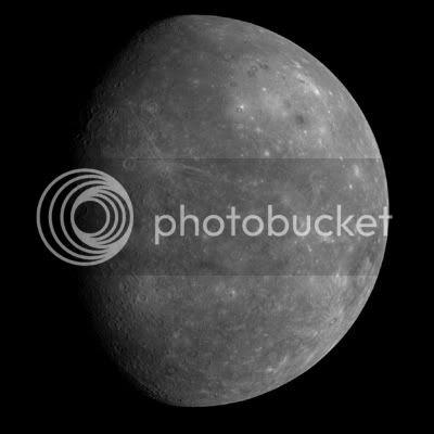 MESSENGER Sees Mercury
