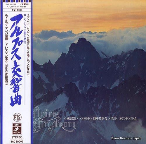 KEMPE, RUDOLF strauss, r.; alpine symphony, op.64