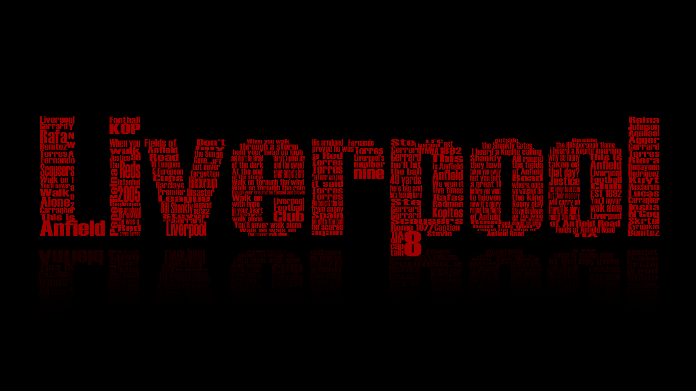 Liverpool Text Wallpaper Background Wallpaper | WallpaperLepi