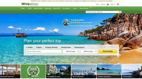 BBC News - Trip Advisor couple 'fined' £100 by hotel for bad review