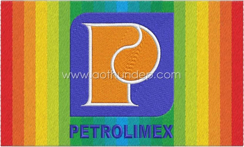 Thêu logo đồng phục Petrolimex