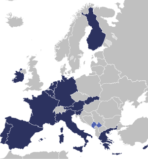 Eurozone map in 2009 Category:Maps of the Eurozone
