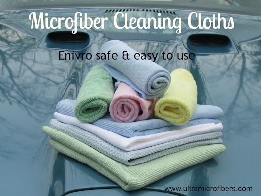 Ultra Microfiber Cleaning Cloths, Towels, Mop System