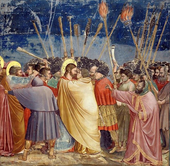 File:Giotto - Scrovegni - -31- - Kiss of Judas.jpg