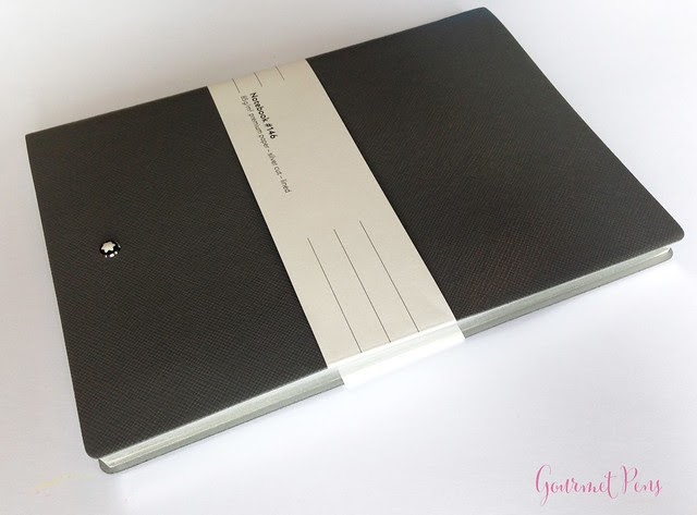 gourmet pens  review  montblanc  146 flannel notebook