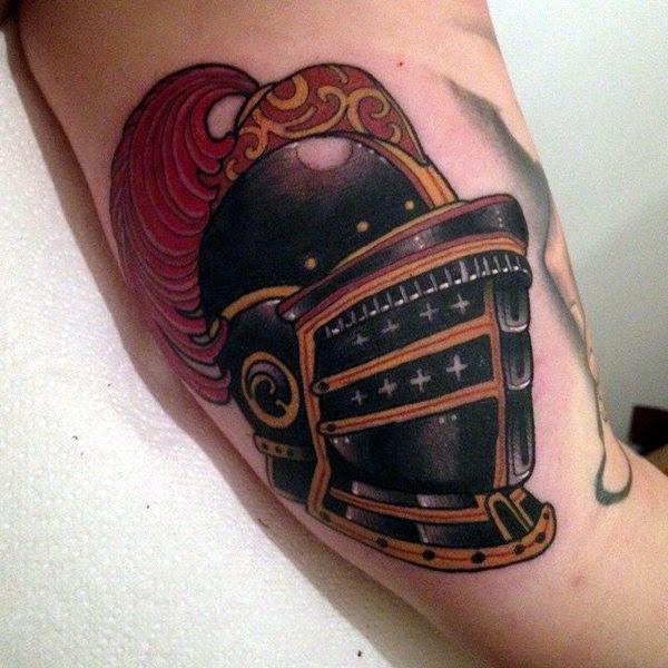 Valiant Gladiator Tattoo Designs (41)