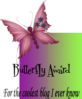 image of butterfly award