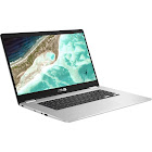 ASUS C523NA DH02 15.6″ Chromebook - Celeron N3350 1.1 GHz - 4 GB RAM - 32 GB SSD - Silver