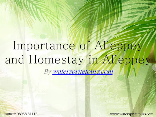 Homestay in alleppey