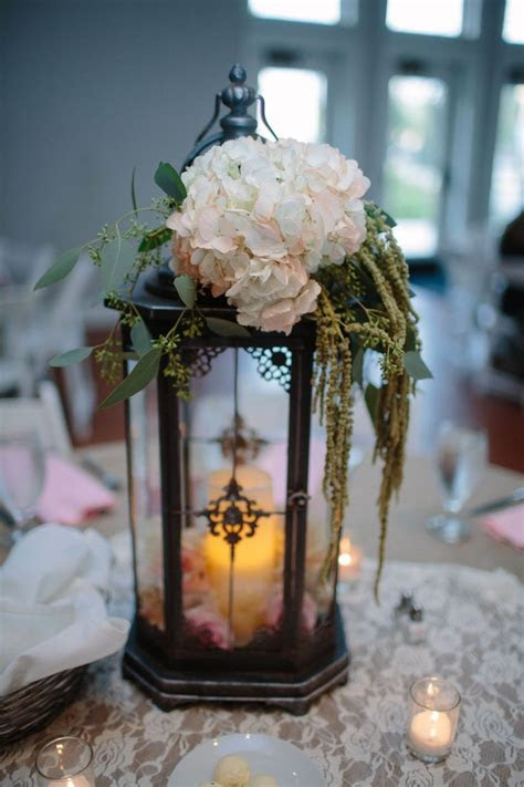tall lantern centerpiece hobby lobby wedding