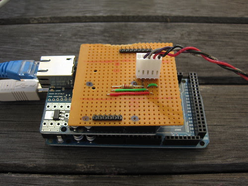 Arduino with protoyping shield