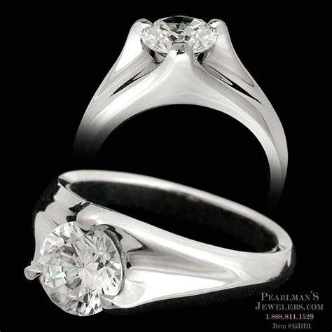 Michael Bondanza's Platinum Sculptural Trident engagement