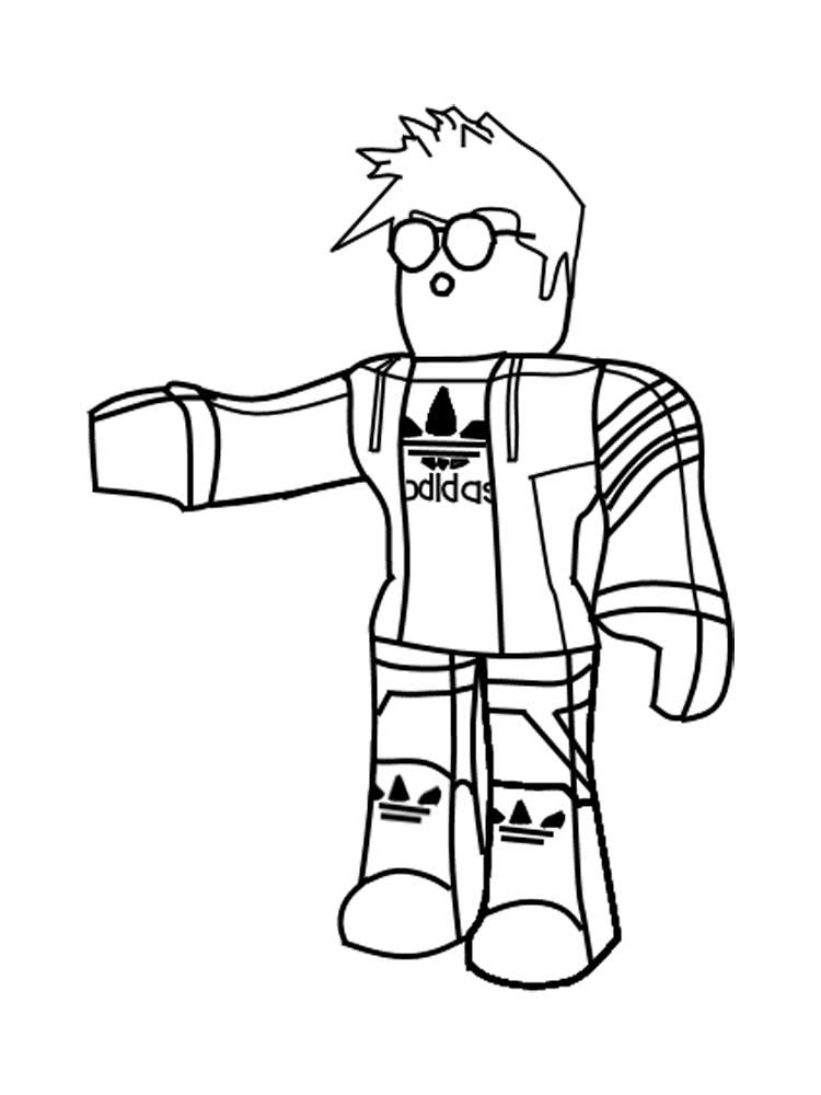 Roblox coloring pages. Free Printable Roblox coloring pages.