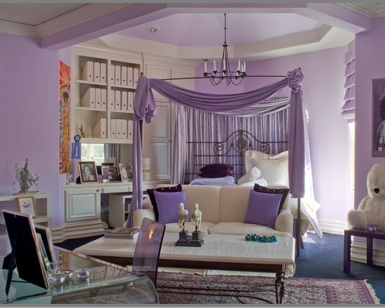 50 Purple Bedroom Ideas For Teenage Girls  Ultimate Home Ideas