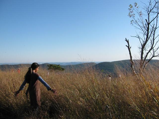 Sara Touching Grasses 1